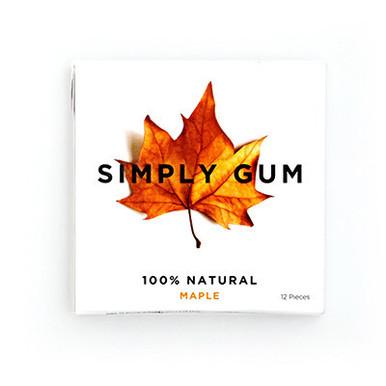 Simply Gum All Natural Gum Maple