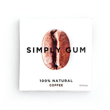 Simply Gum All Natural Gum Coffee