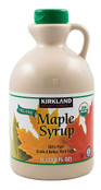 Kirkland Signature Organic Maple Syrup, 33.8 fl oz.
