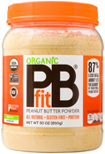 Better Body Foods Organic PB Fit Peanut Butter Powder, 30 oz.