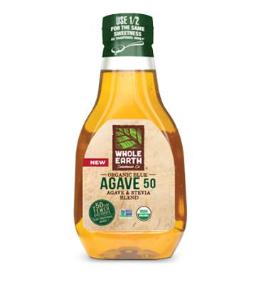 Whole Earth Organic Agave 50, 11.75 oz.