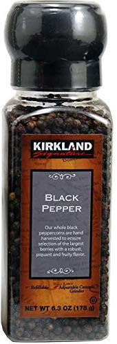 Kirkland Black Pepper with Grinder, 6.3 oz.