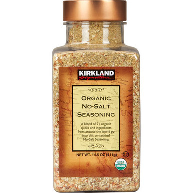 Kirkland Organic No-Salt Seasoning, 14.5 oz.