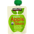 Kirkland Organic Apple Sauce, 3.17 oz. (24 Pouches)