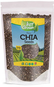 Just Grown Raw Bulk Chia Seeds
