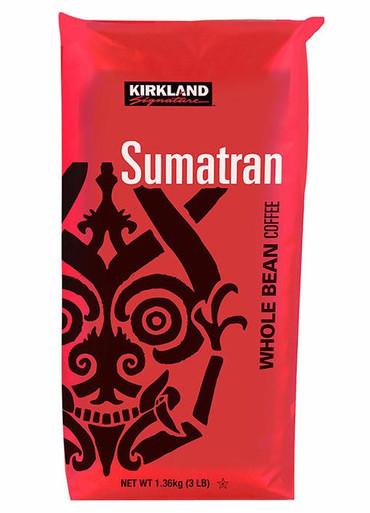 Kirkland Sumatran Whole Coffee Beans, 48 oz.