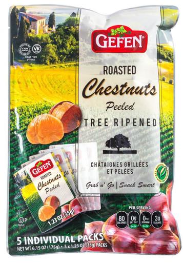 Gefen Organic Roasted Chestnuts, 6.15 oz