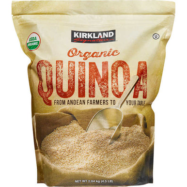 Kirkland Organic Quinoa, 4.5 lbs.