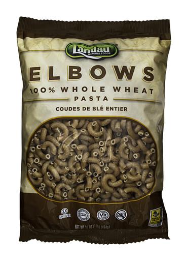 Landau Whole Wheat Pasta Elbows,