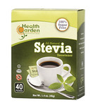Health Garden All Natural Stevia Sweetener, 40 Packets