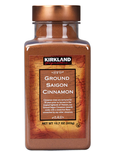 Kirkland Ground Saigon Cinnamon, 10.7 oz