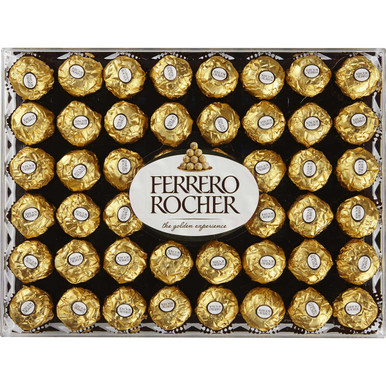 Ferrero Rocher Fine Hazelnut Chocolates, 21.2 oz.