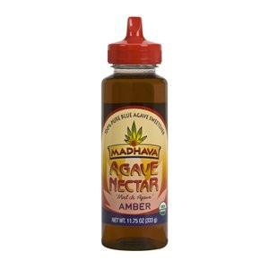 Madhava Organic Agave Nectar Amber, 11.75 oz.