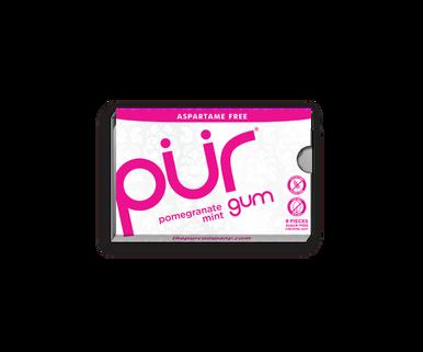 Pur Sugarfree Gum Pomegranate Mint