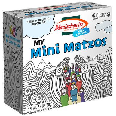 Manischewitz Kids Edition My Mini Matzos, 2.8 oz