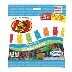Jelly Belly Sugar Free Jelly Gummi Bears, 2.8 oz.