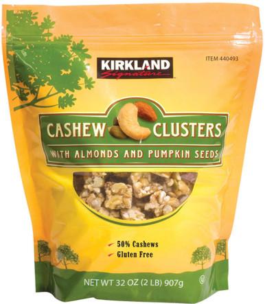 Kirkland Cashew Clusters, 32 oz