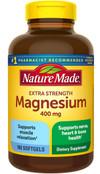 Nature Made Extra Strength Magnesium 400mg, 180 Softgels
