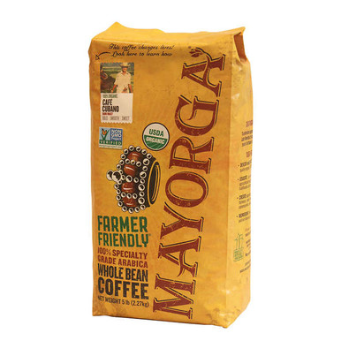 Mayorga Organic Coffee Bean Cafe Cubano, 5 lb