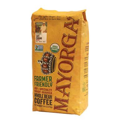 Mayorga Organic Coffee Bean Cafe Cubano, 5 lb