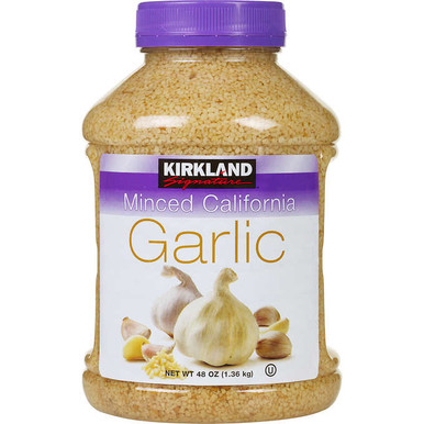 Kirkland Minced California Garlic, 48 oz.