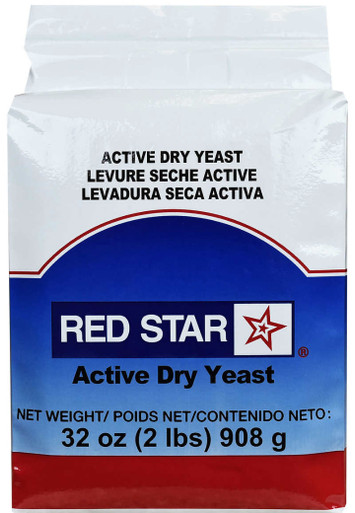 Red Star Active Dry Yeast, 32 oz.