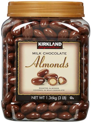 Kirkland Milk Chocolates Covered Almonds, 3 lbs