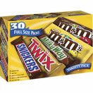 Mars Variety Pack, 30 Full Size Packs
