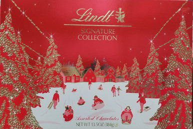 Lindt Signature Collection Assorted Chocolate Gift Box, 13.5 oz.