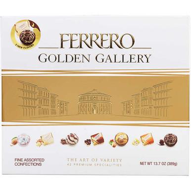 Ferrero Golden Gallery Fine Assorted Confections Gift Box, 13.7 oz.