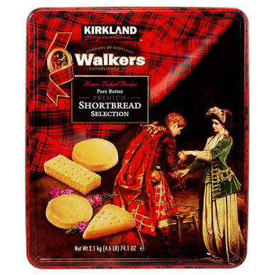 Kirkland Walkers Premium Shortbread Selection, 74.1 oz