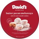 David's Cookies Butter Pecan Meltaways, 32 oz.