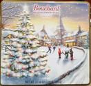 Bouchard Belgian Chocolatier Napolitains Gift Tin Box Ice Skating