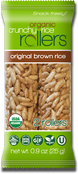 Organic Crunchy Rice Rollers Original Brown Rice, 0.9 oz. (Pack of 16)