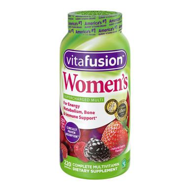 VitaFusion Women Multivitamin Gummies, 220 Gummies