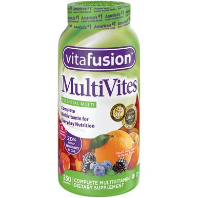 VitaFusion MultiVites Multivitamin Gummies, 250 Gummies