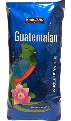 Kirkland Guatemalan Whole Bean Coffee, 48 oz.
