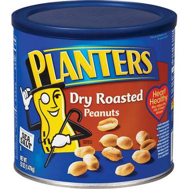 Planters Dry Roasted Peanuts with Sea Salt, 52 oz.