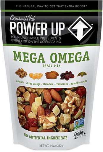 Gourmet Nut Power Up Trail Mix Mega Omega, 14 oz.