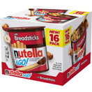 Nutella & Go Snack Pack Hazelnut Spread with Breadsticks, 29.3 oz
