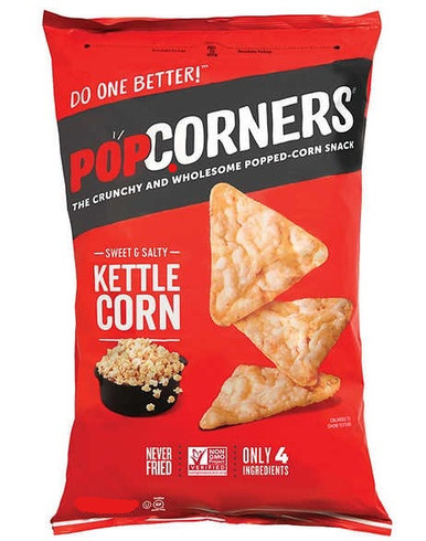 Popcorners Sweet and Salty Kettle Corn, 18 oz.