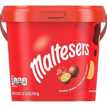 Mars Maltesers Bucket, 31 oz.