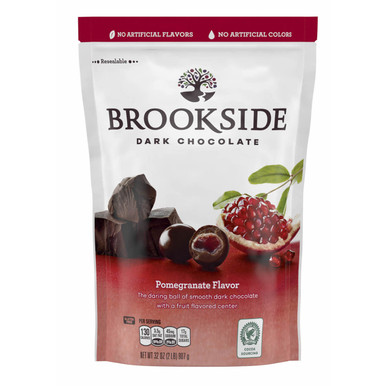 Brookside Dark Chocolate Pomegranate Flavor