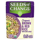 Seeds of Change Organic Brown & Red Rice with Chia and Kale, 3.2 lbs