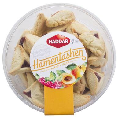 Haddar Hamentashen Raspberry Apricot Variety Pack, 2.75 lb.