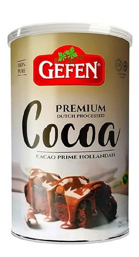 Gefen Premium Dutch Processed Cocoa Kosher for Passover, 16 oz