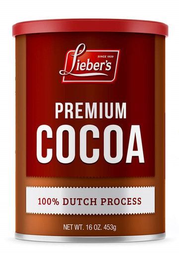 Liebers Premium Cocoa Dutch Process Kosher for Passover