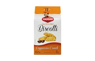 Haddar Gluten Free Biscotti Cappuccino Crunch