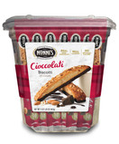 Nonni's Almond Dark Chocolate Cioccolati Biscotti, 25 Ct.