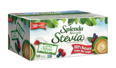 Splenda Naturals Stevia Zero Calorie Sweetener, 500 Packets